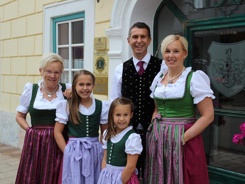 Inhaber Familie Berger Gasthof Seitner