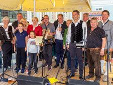 20 Jahre Feier Wochenmarkt in Feldkirchen