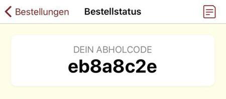 Seitner-App Bestellcode