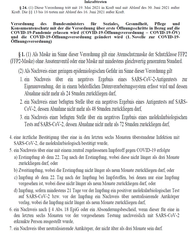 Aushang-Verordnung